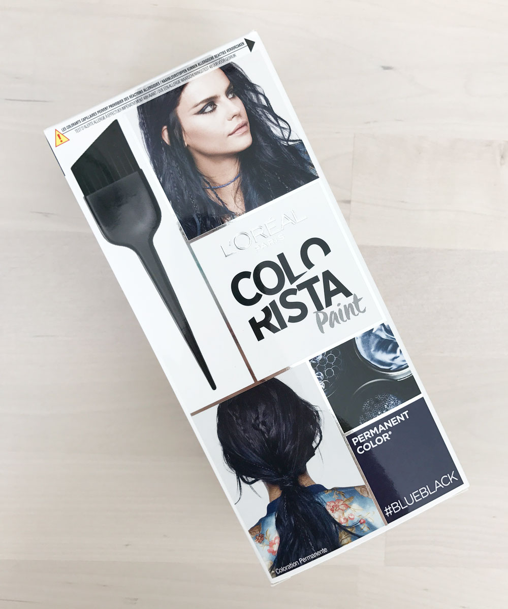 loreal colorista blueblack paint