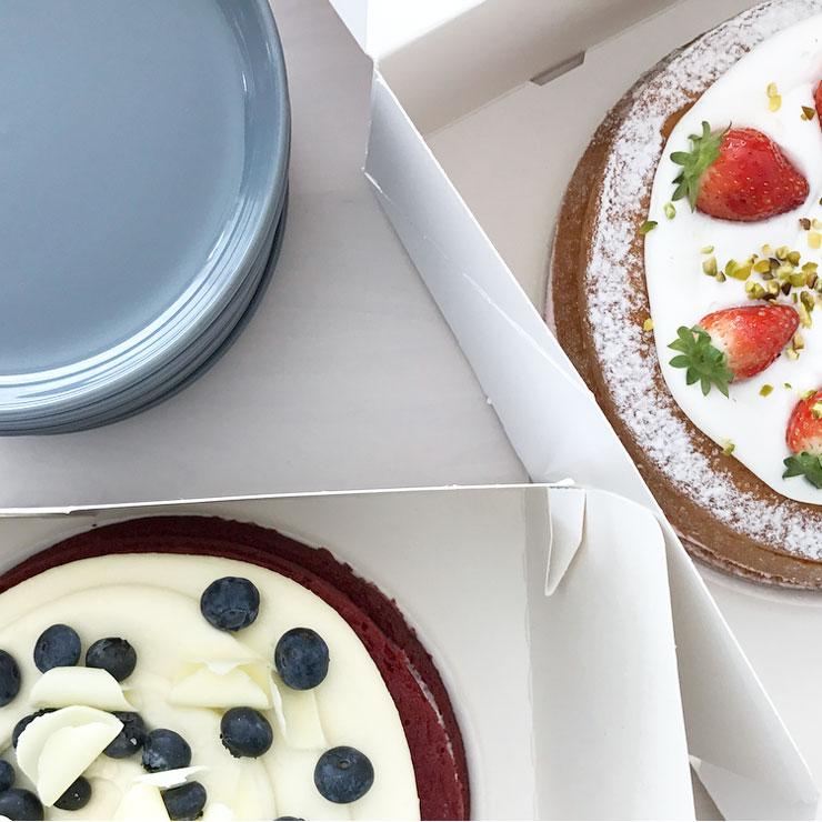 galblaasoperatie thuiskomst taart