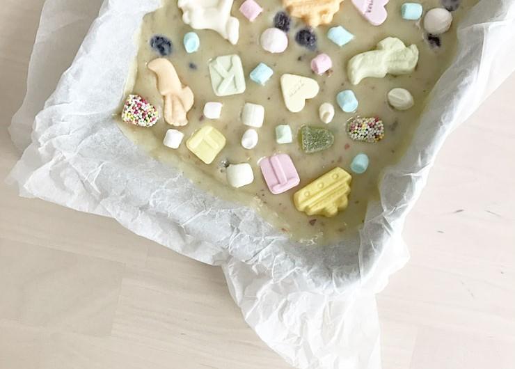 sinterklaas rocky road witte chocolade