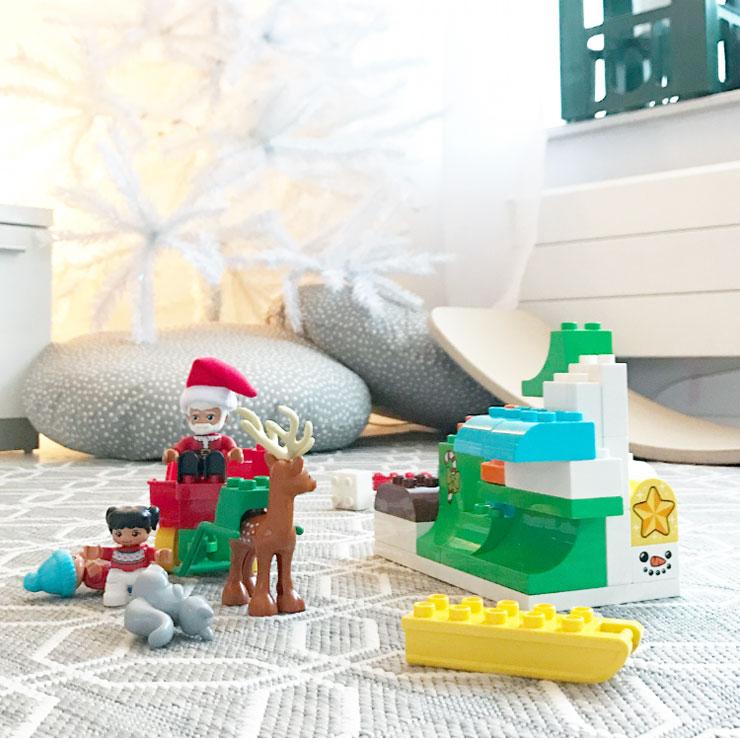 kersttraditie lego duplo kerstman