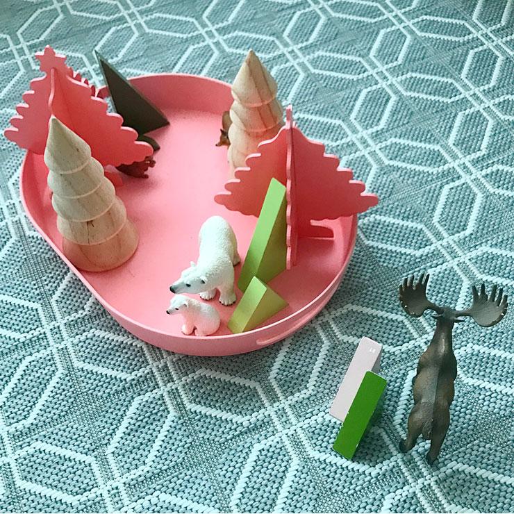 speelgoed kerst dienblad kerstdecoratie voor kinderen hema