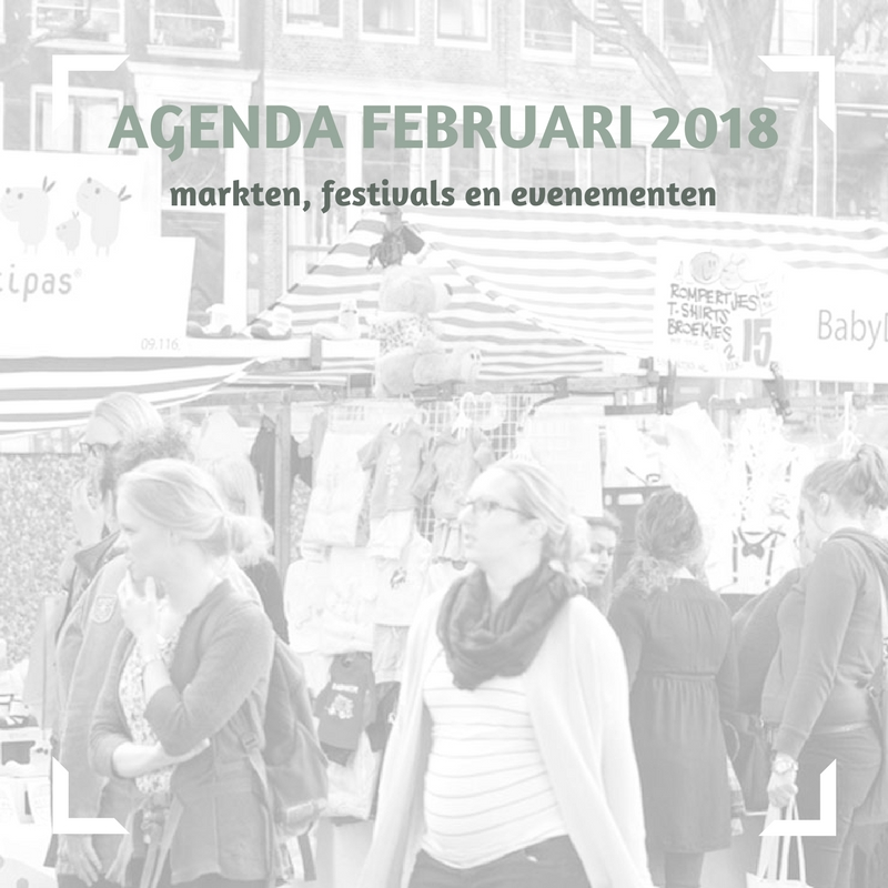 februari 2018 - markten, festivals en evenementen