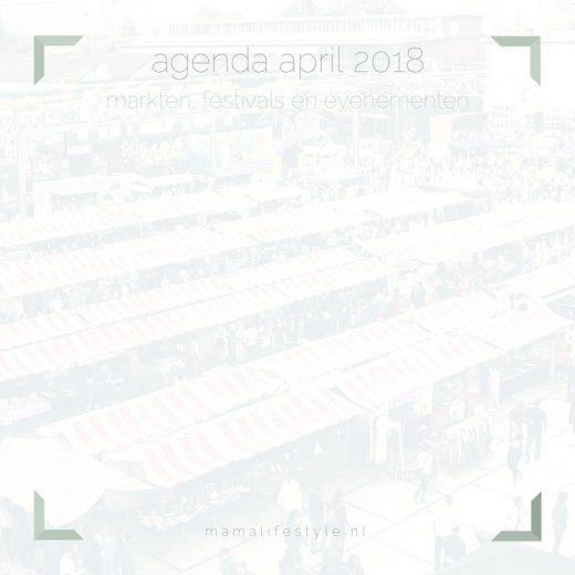 april 2018 - markten, festivals en evenementen