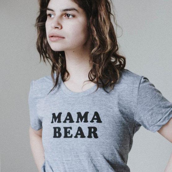 mama bear t-shirt little loved ones