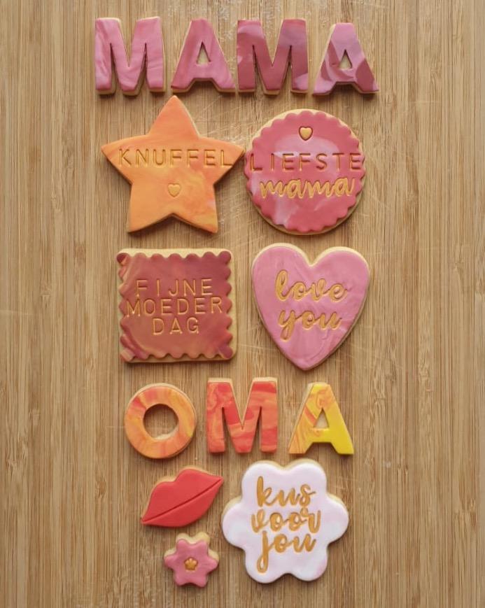 Better Sweet Than Sorry koekjes moederdag