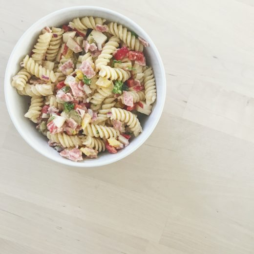 Zomerse pastasalade recept