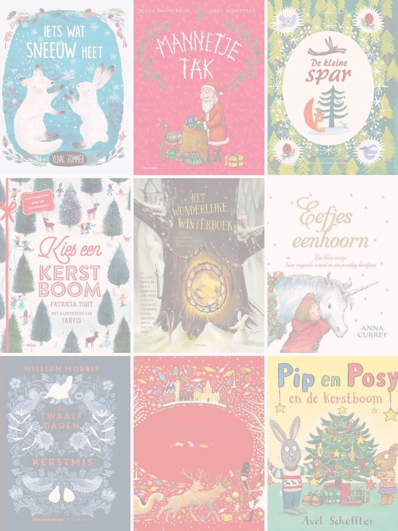 kerstboeken kinderboeken kerst