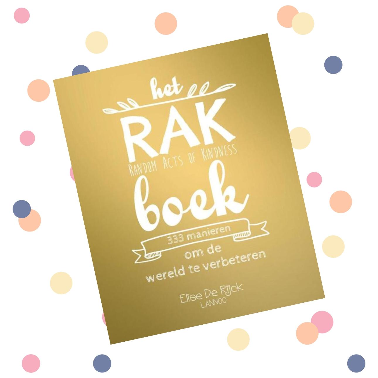 random acts of kindness dagboeken - rak boek