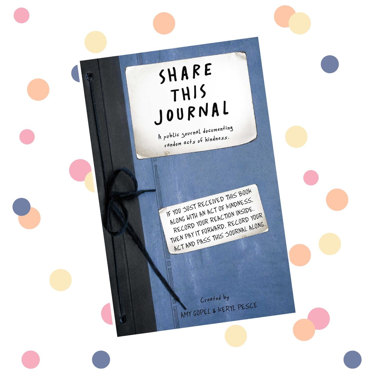 random acts of kindness dagboeken - share this journal