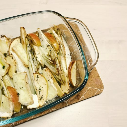 witlof brie appel tijm uit de oven
