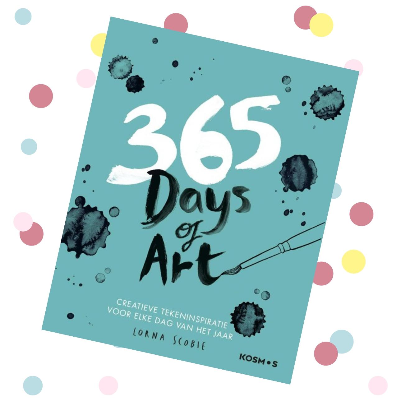 creatieve dagboeken 365 days of art