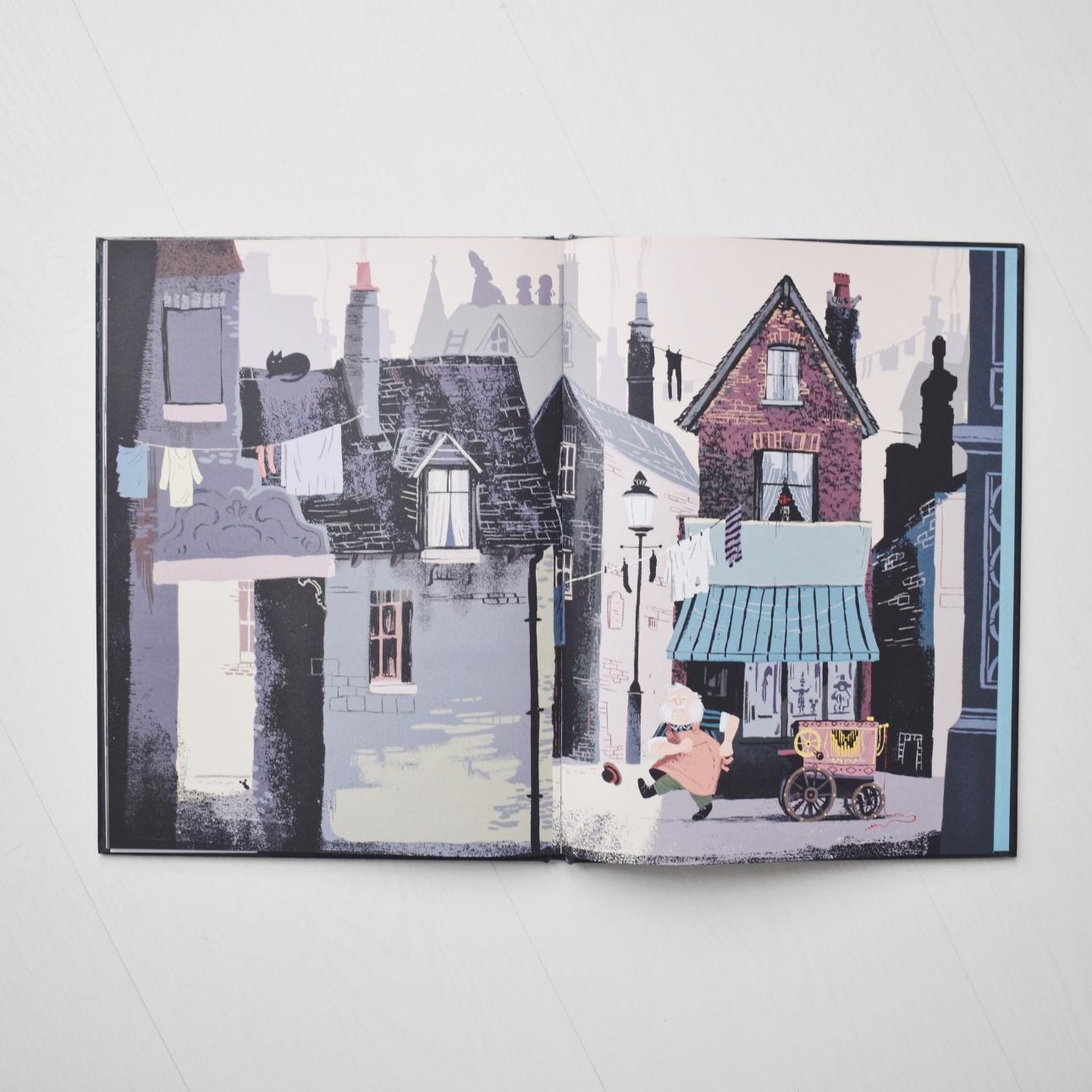 prentenboek de grotteling benji davies binnenkant