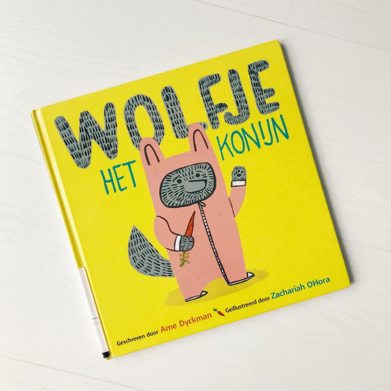 prentenboek wolfje het konijn