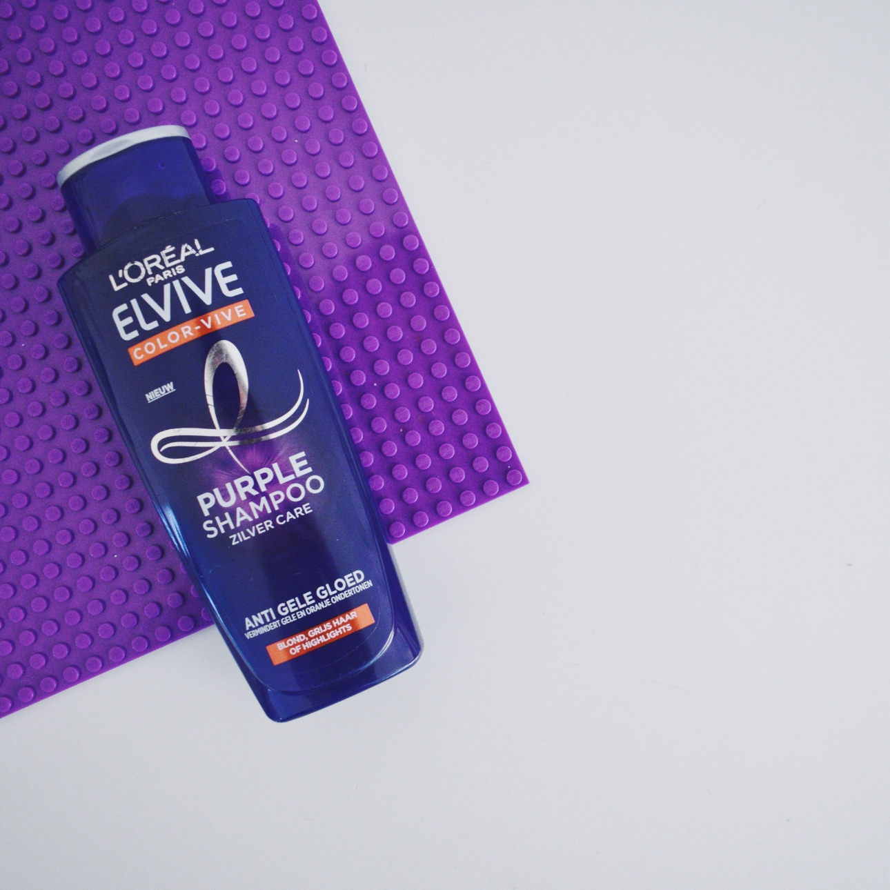loreal elvive purple shampoo zilver care mamalifestyle