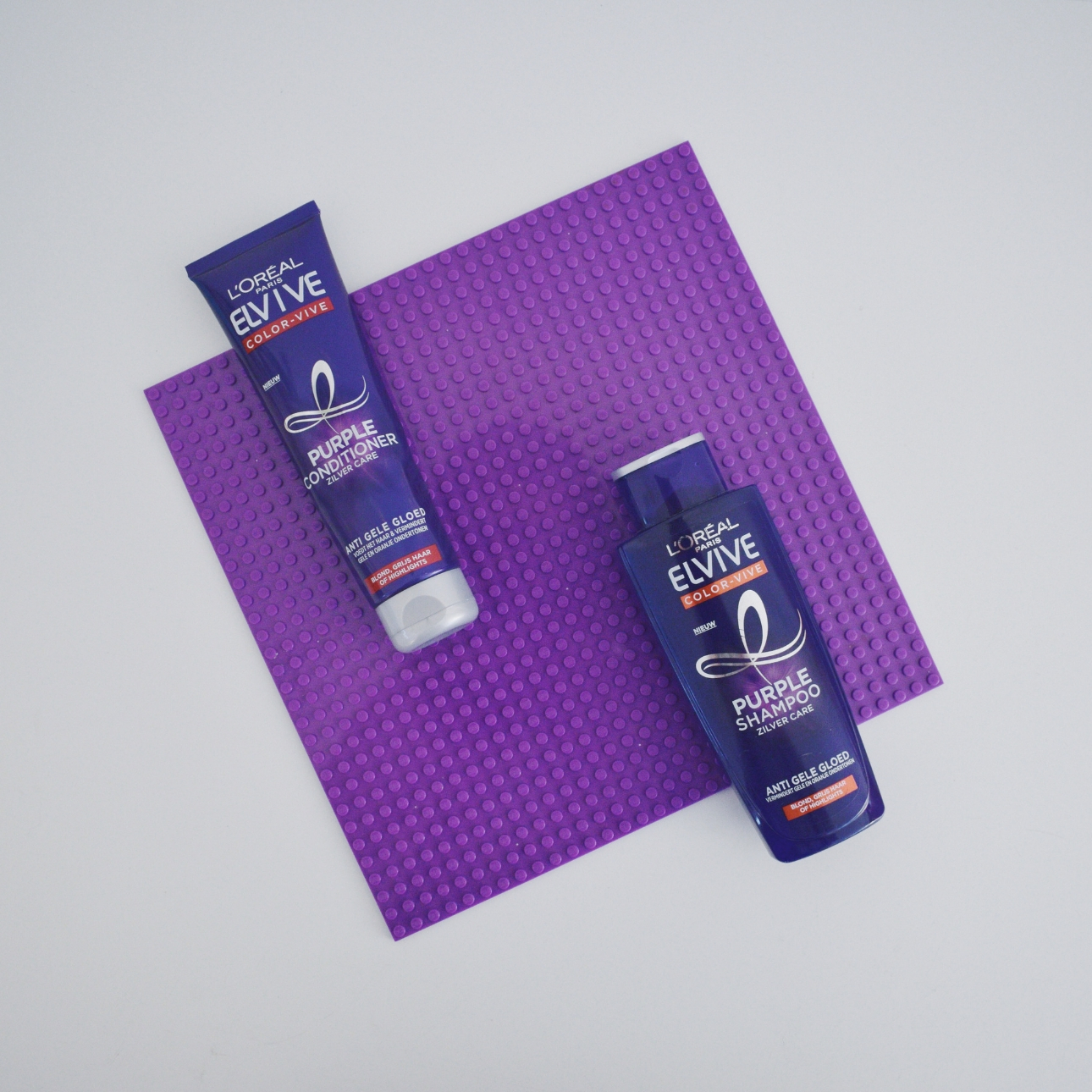 loreal elvive purple shampoo zilver care purple conditioner mamalifestyle