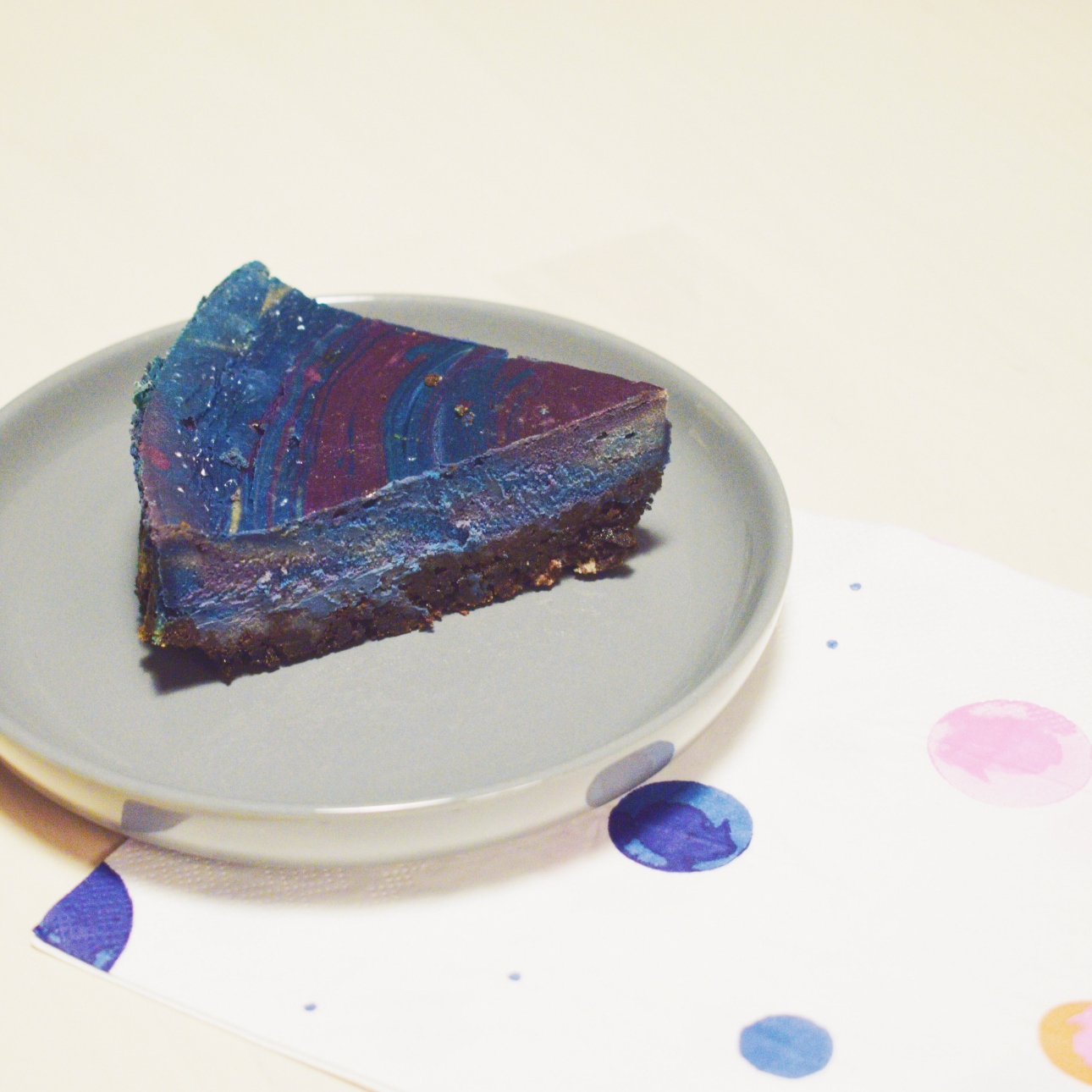 taart galaxy new york cheesecake space party