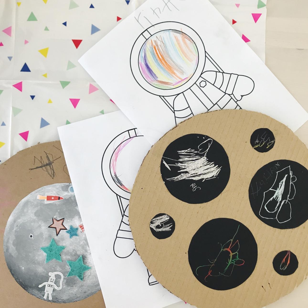 space party kinderfeestje activiteiten