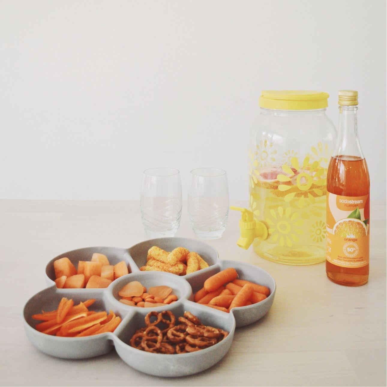 oranje feestje monkey platter sodastream
