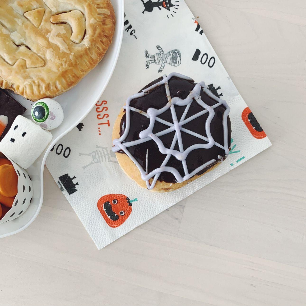 Halloween high tea donut dunkin donuts