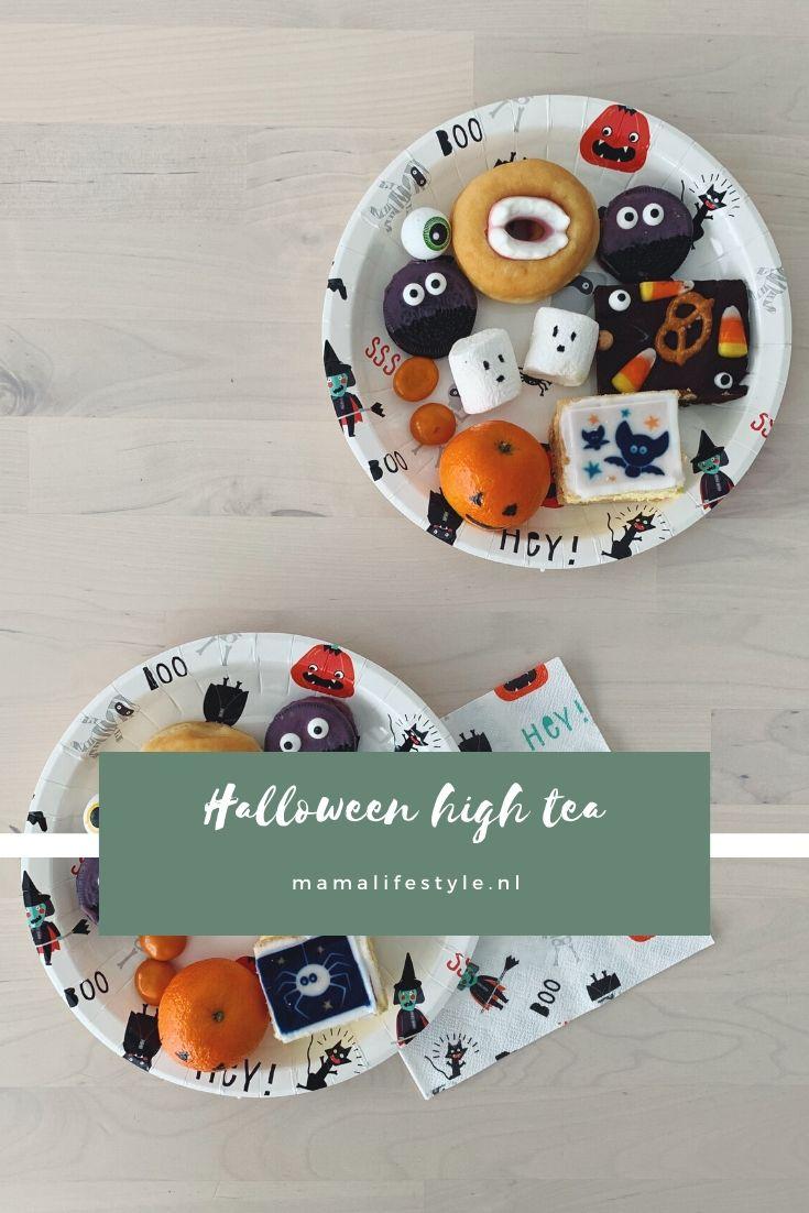 Pinterest - halloween high tea