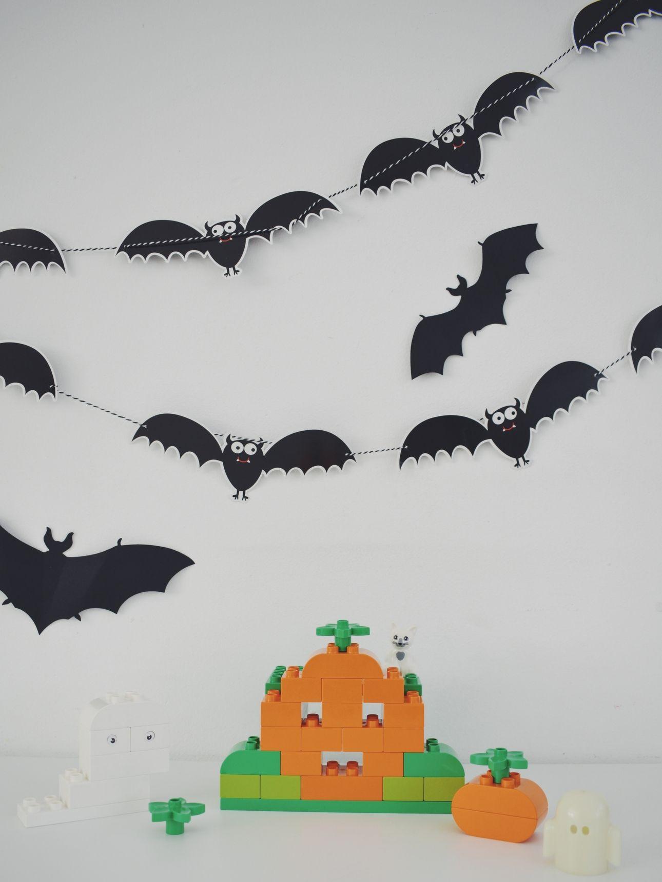 halloween duplo pompoen spook
