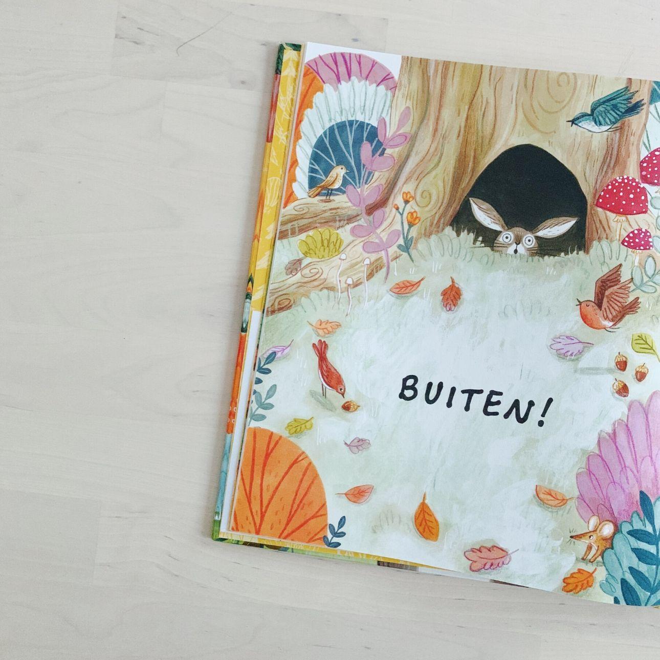 kinderboek een klein beetje dapper