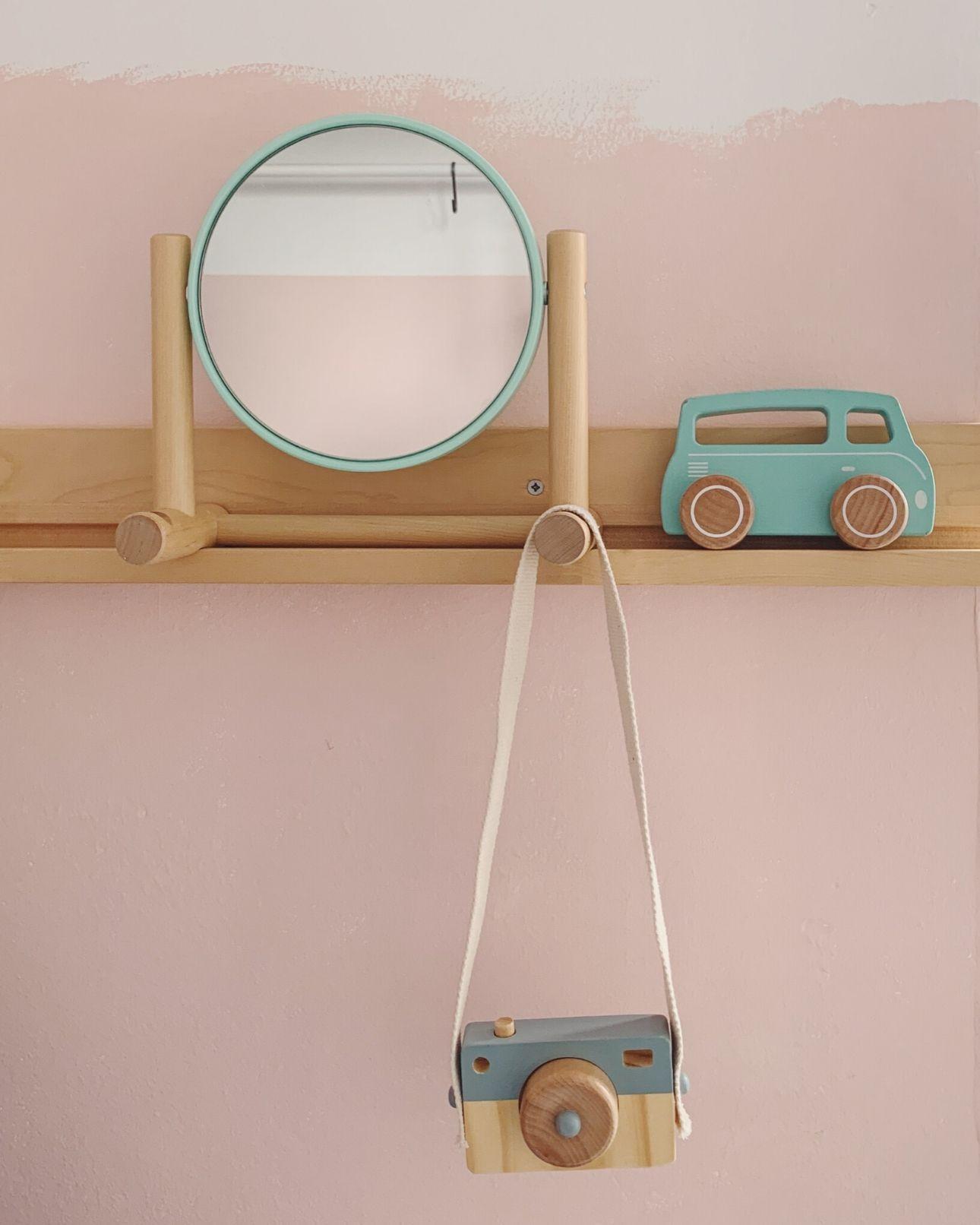 Little Dutch houten speelgoed auto en camera