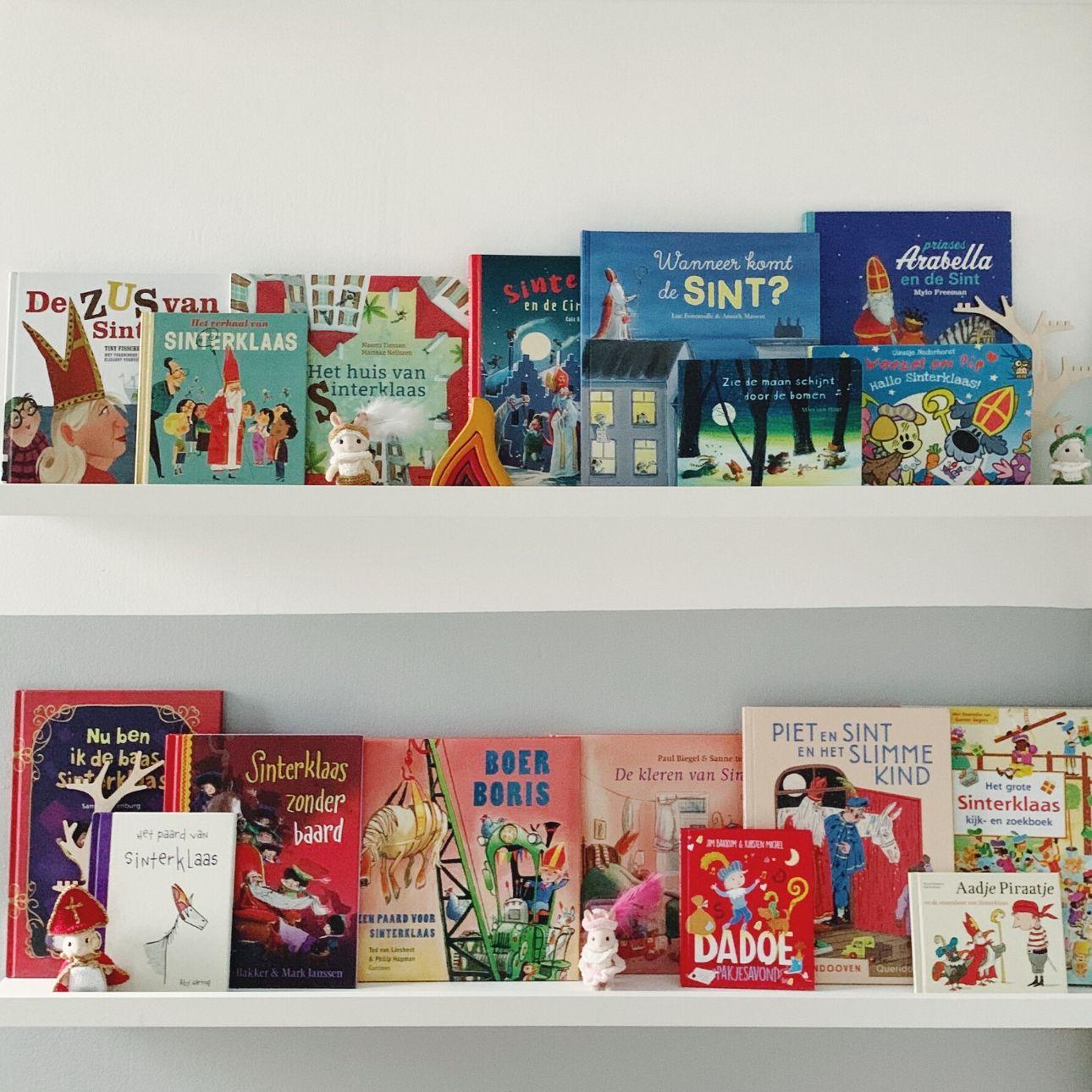 Sinterklaas kinderboeken roetveegpieten