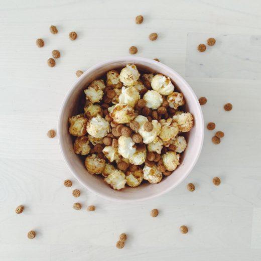 Sinterklaas popcorn kruidnoten popcorn speculaas