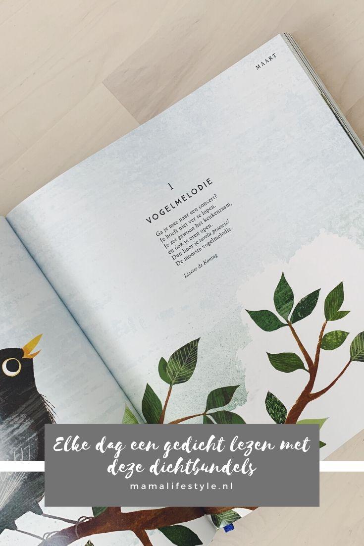 Pinterest - elke dag een gedicht lezen met dichtbundels - ik wou dat ik een vogel was