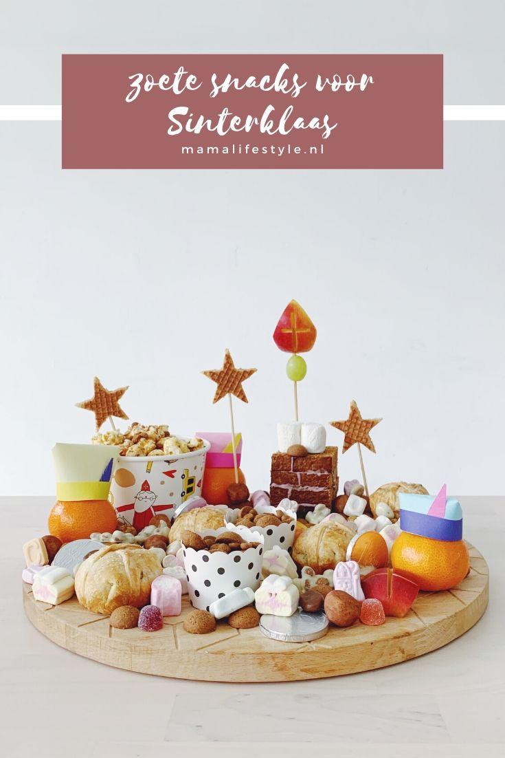 Pinterest - zoete snacks sinterklaas