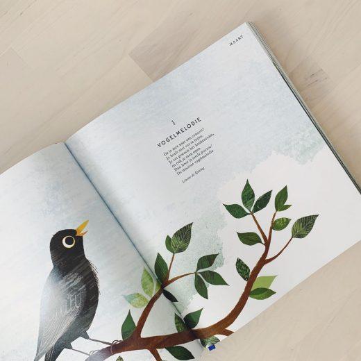 elke dag een gedicht - ik wou dat ik een vogel was
