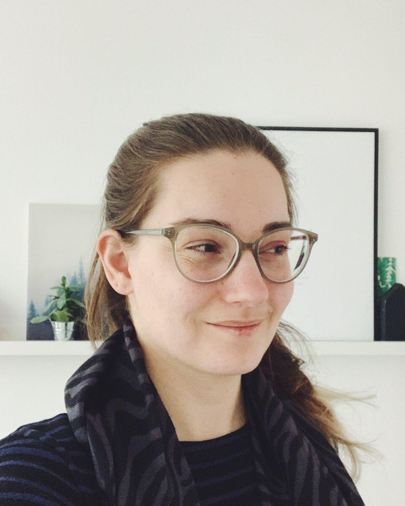 Marike nieuwe bril Specsavers