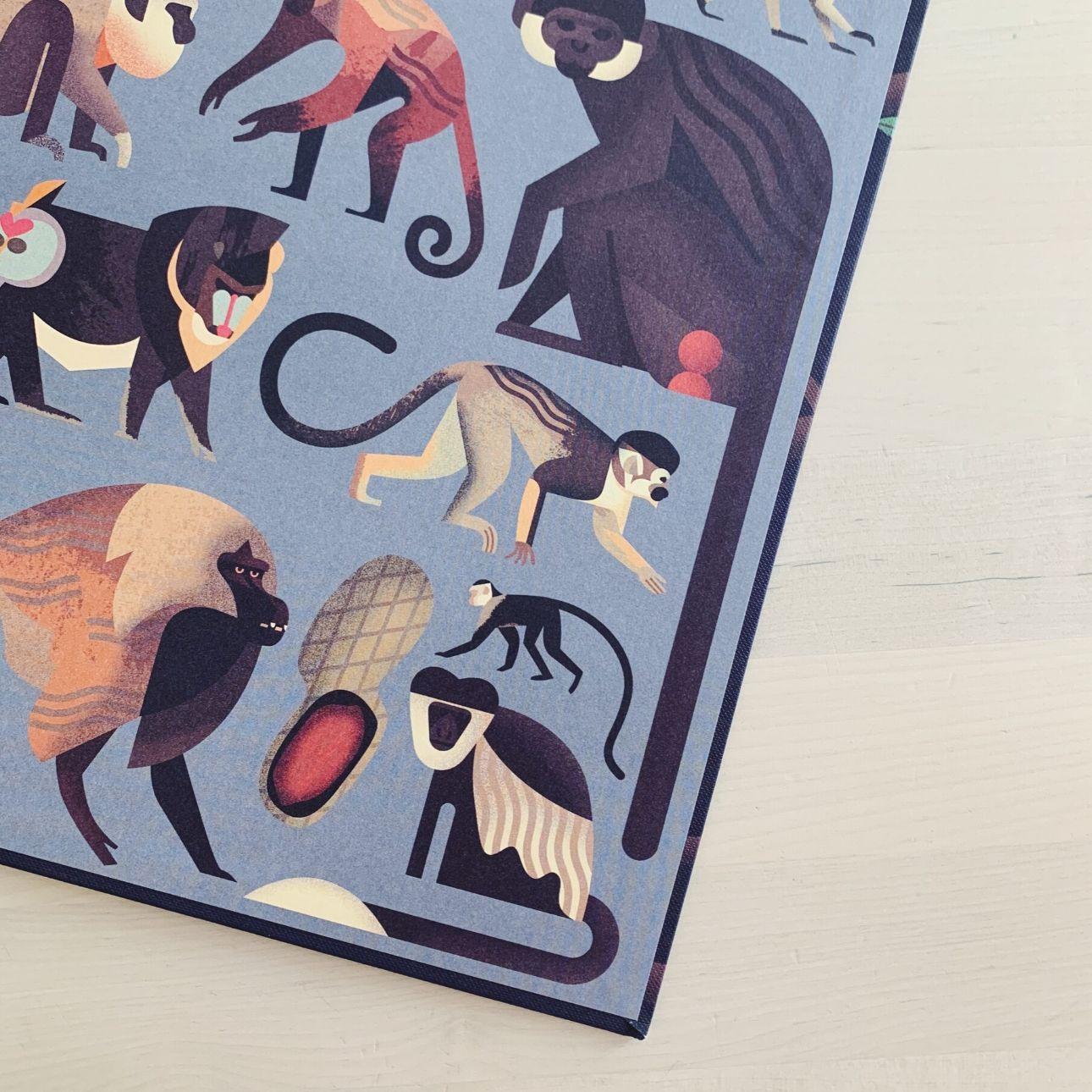 Owen Davey kinderboek allemaal apen
