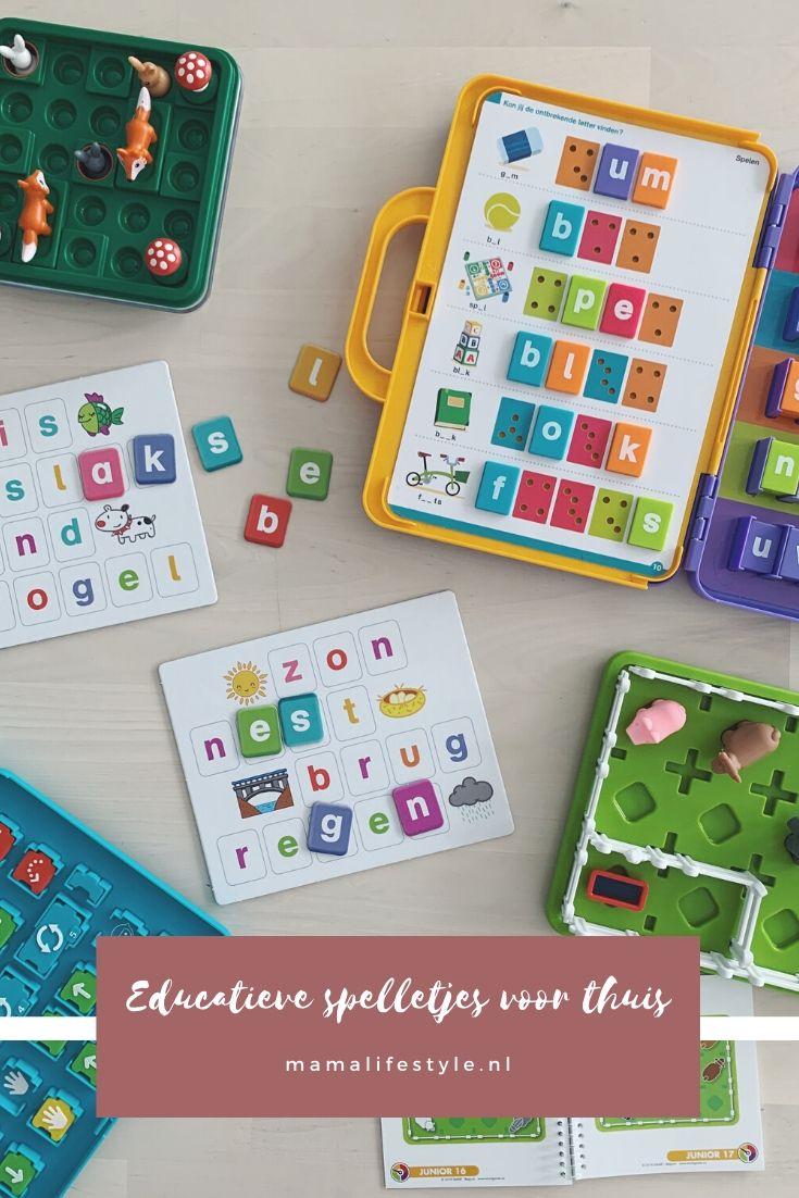 Pinterest - educatieve spelletjes voor thuis