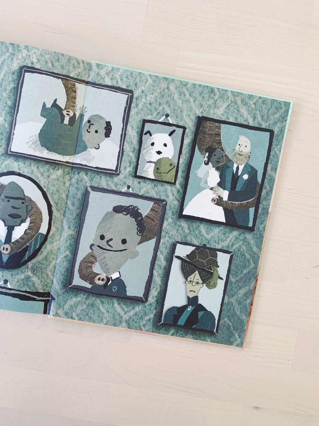 Heb jij misschien olifant gezien - kinderboek illustraties
