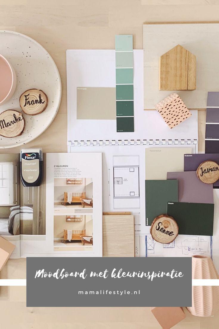 Pinterest - nieuwe huis kleurinspiratie moodboard
