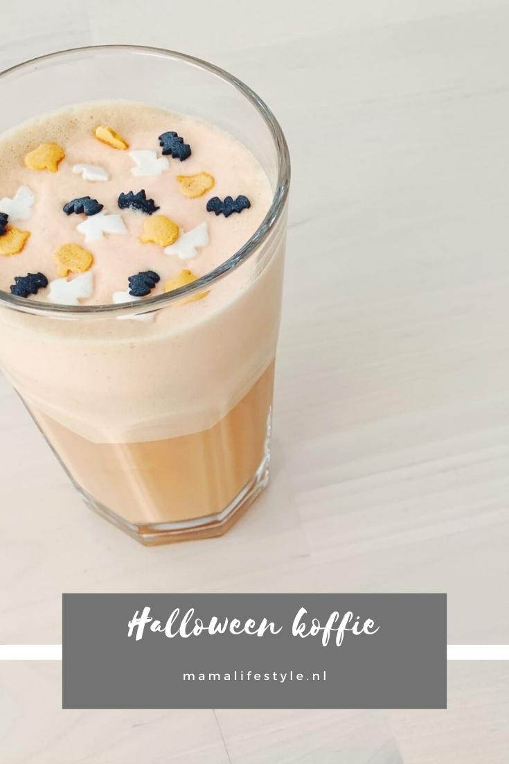 Pinterest - Halloween koffie