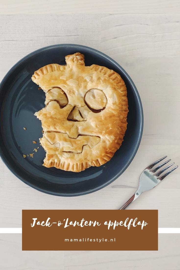 Pinterest - jack o lantern appelflap