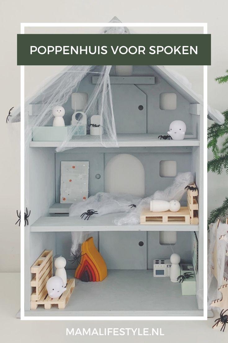 Pinterest - poppenhuis voor spoken spookhuis