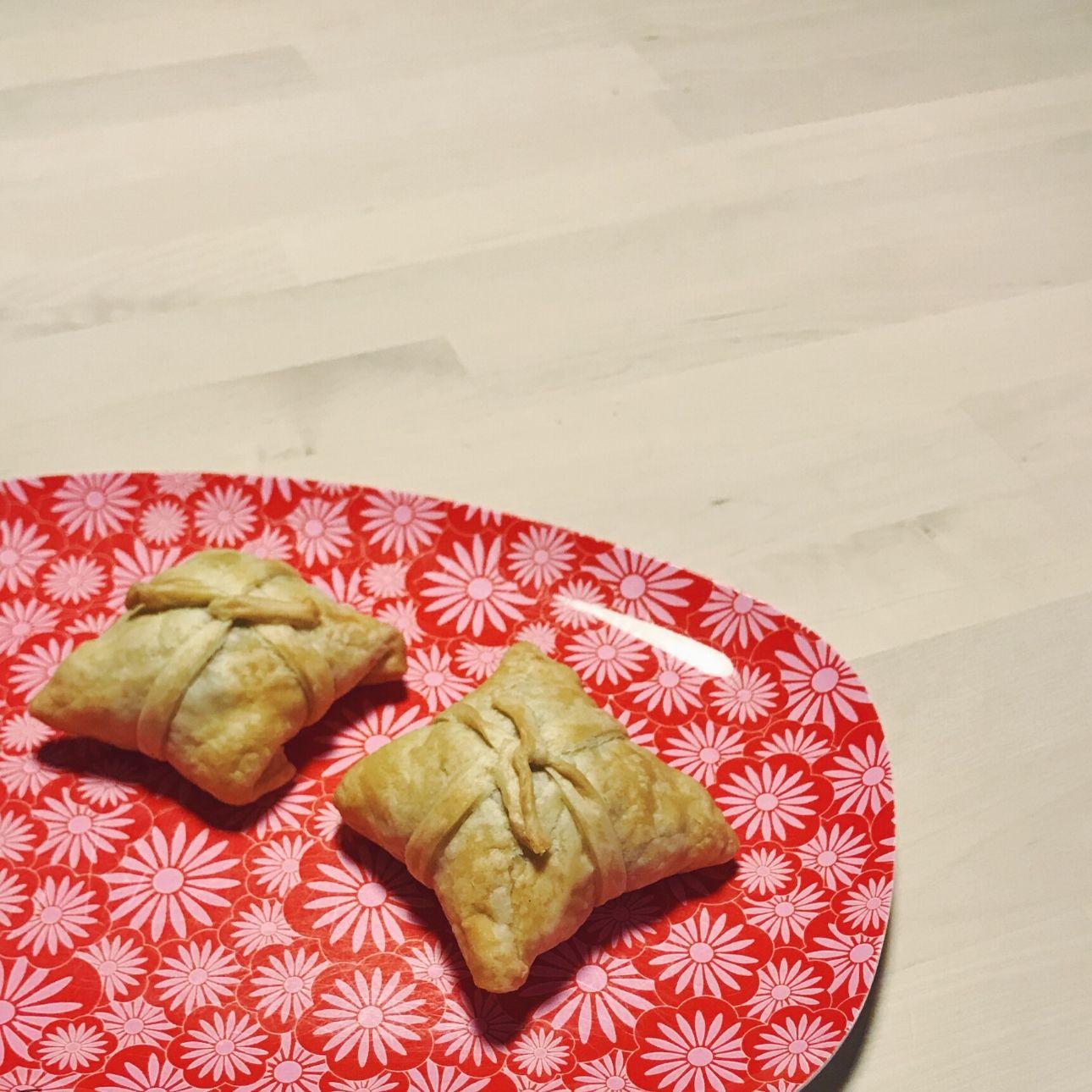 bladerdeeg cadeautjes courgette brie champignons (1)