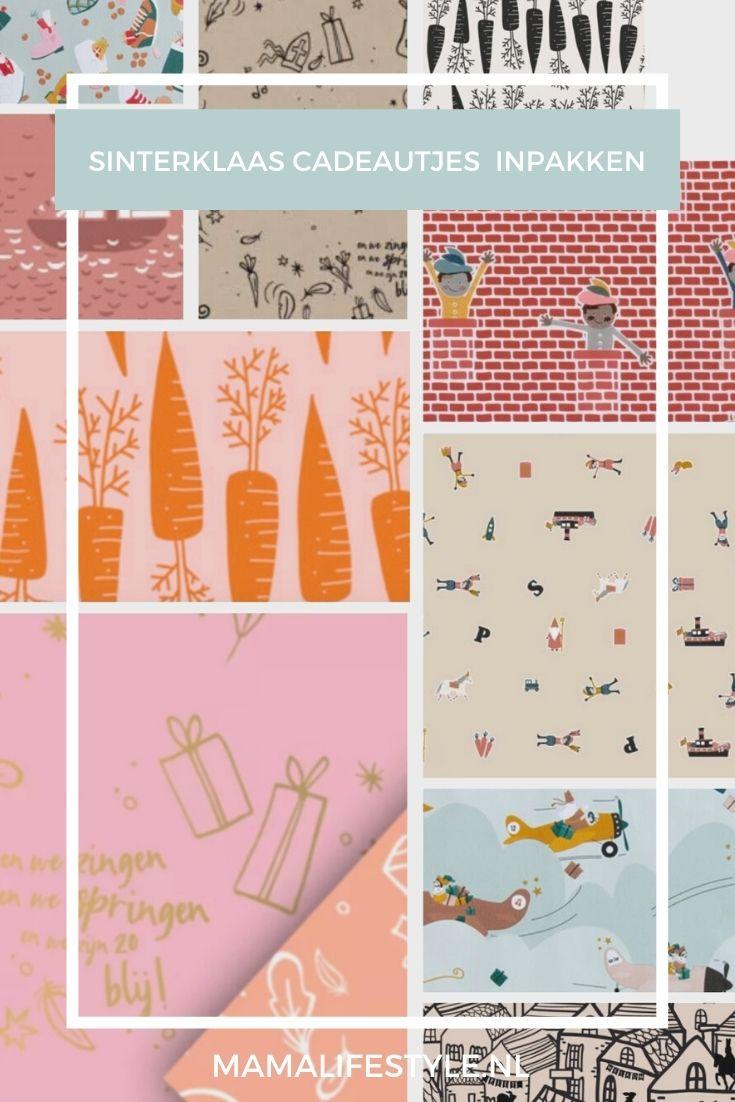 Pinterest - sinterklaas cadeautjes inpakken vlindersinjebuik