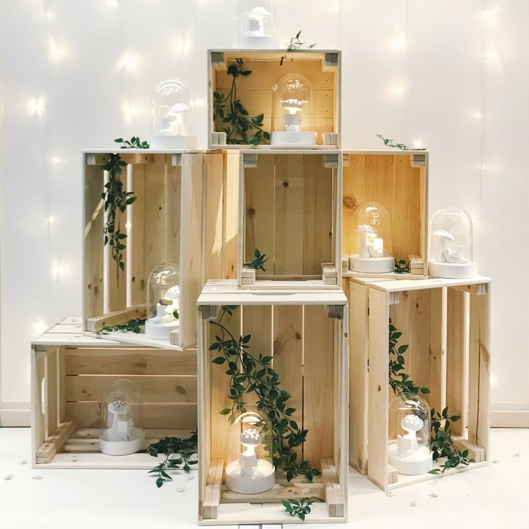 houten kerstboom houten kratten ikea