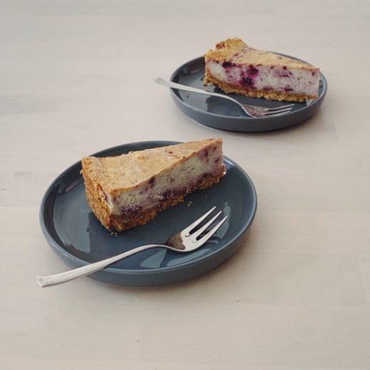 new york cheesecake witte chocolade framboos knettersuiker
